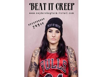 mössa beanie cry baby höstkläder beat it creep unisex vinter street hiphop rock - Solna - mössa beanie cry baby höstkläder beat it creep unisex vinter street hiphop rock - Solna