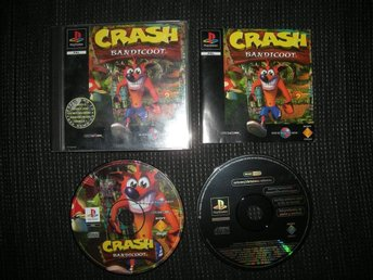 PS1 Crash Bandicoot Orginalutgåvan!