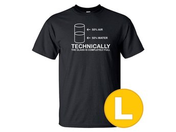 T-shirt Technically Full Svart herr tshirt L