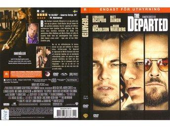 The Departed – 2006 – Leonardo DiCaprio, Matt Damon, Jack Nicholson – UTGÅTT - Malmö - The Departed – 2006 – Leonardo DiCaprio, Matt Damon, Jack Nicholson – UTGÅTT - Malmö