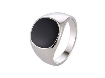 Ring Herr Silver Klackring Svart 18 mm - Eskilstuna - Ring Herr Silver Klackring Svart 18 mm - Eskilstuna