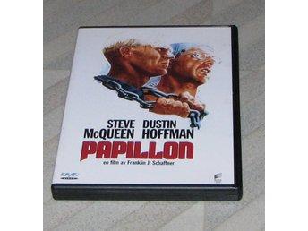 Papillon - Svensk Text (DVD) Steve McQueen - Dustin Hoffman Franklin J Schaffner - Ski - Papillon - Svensk Text (DVD) Steve McQueen - Dustin Hoffman Franklin J Schaffner - Ski