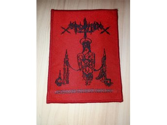SARCOFAGO-Patch NY!!!-Black Metal,Mayhem,Nifelheim,Watain