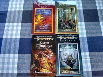 Dragonlance-Legend of Huma/Weasel's luck/Kaz the Minotaur/Galen Beknighted