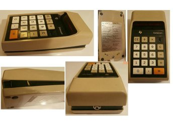VINTAGE DATAMATH TI-2500 calculator 2nd version fr.1972
