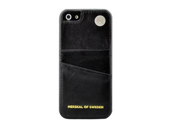 Wallstreet Leather Black iPhone 5/5S/SE