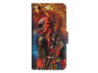 iPhone 7 Plånboksfodral Deadpool Space