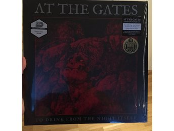 AT THE GATES To Drink From The Night Itself LP 200 ex the haunted death metal