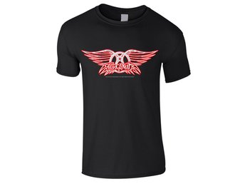 Aerosmith - Logo  Barn T-Shirt