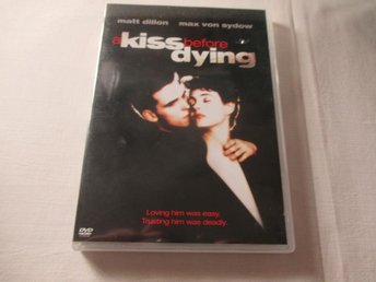 A KISS BEFORE DYING / 1991 / MAX VON SYDOW / DVD / SV TEXT