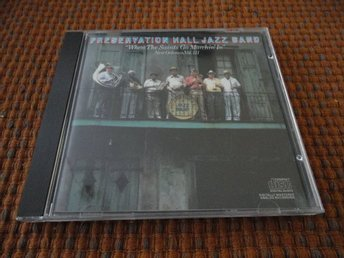 "PRESERVATION HALL JAZZ BAND ""WHEN THE SAINTS GO MARDHIN IN"""