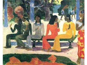 Zeit4art Paul Gauguin TA MATETE Tahiti .. (339596224) ᐈ zeit4art på ... 8f66a5626be88