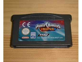 GBA: Power Rangers S.P.D. ★