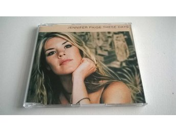 Jennifer Paige - These Days, Promo, CD