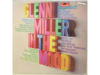 Glenn Miller-In The Mood / Dubbel-LP med utvikbart omslag
