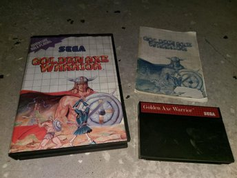 Golden Axe Warrior - Sega Master System