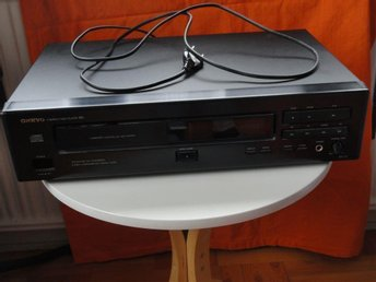 ONKYO CD-spelare, DX-710, compact disk player, CD-player & fjärrkontroll RC-196C