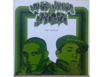 "Rusty James And Aegiz title* War Stories* Hip-Hop 12"" EP SWE"