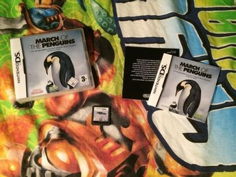 MARCH OF THE PENGUINS NINTENDO DS BRA SKICK