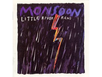 Little River Band - Monsoon (1988) CD, MCA Records, OOP, Like New, West Coast - Ekerö - Little River Band - Monsoon (1988) CD, MCA Records, OOP, Like New, West Coast - Ekerö