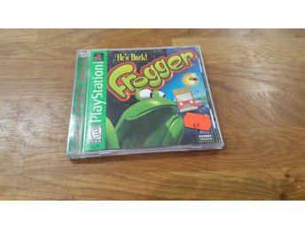 FROGGER HE´S BACK PS1 NTSC