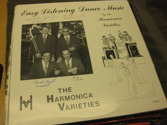 The Harmonica Varieties - Easy Listening Dance Music
