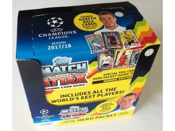 2017-2018 Topps Match Attax Champions League Nordic Edition Box