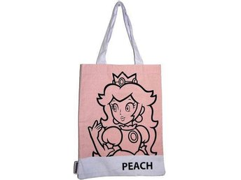Super Mario Shopping Bag Peach