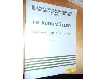 Fr. Burgmuller for piano