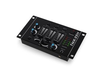 Auna TMX-2211 3/2-kanals DJ-mixer talkover party
