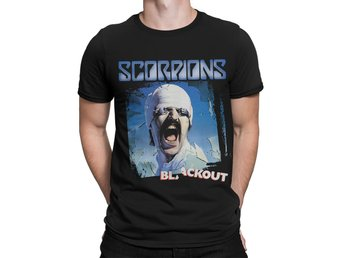 Scorpions - Blackout T-SHIRT Small