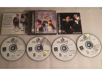Final Fantasy VIII Till Playstation! Komplett! NTSC! 1kr