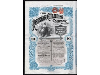 1902 England/Russia: Russian Collieries Company