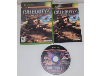 XBOX spelet ** Call Of Duty 2, Big Red One ** ** KOMPLETT **