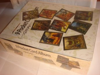 9st NYA ALBUM FANTASY  Harry Potter  POKEMON  mm. I inpl BOX