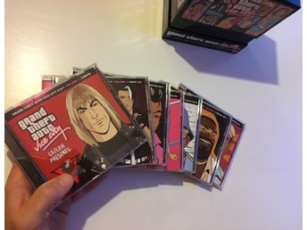 Grand Theft Auto Vice City: Official soundtrack box set (7 CD)