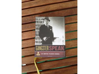 Gangster Speak-30 movie flash cards