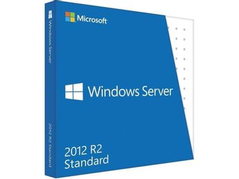 Windows Server 2012 R2 Standard 5 klientlicenser ingår.