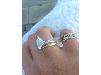 Blommor ring Silver 925 Handgjord konst smycken - Nynäshamn - Blommor ring Silver 925 Handgjord konst smycken - Nynäshamn