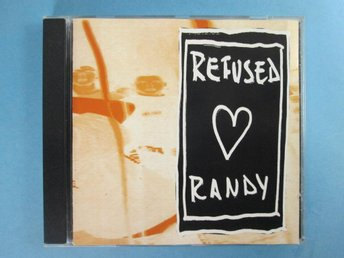 "REFUSED - ""RANDY"" CD-EP 1995 - UTGÅNGEN CD"