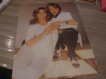 ABBA Double Sized Poster 3 Rare