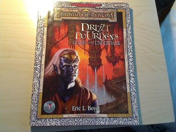 Ad&d forgotten realms drizzt's guide to the underdark dungeons and dragons