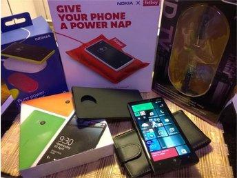 Nokia Lumia 930 Utmärkt skick 2 st Nokia trådlösa laddare mm BONUS VID KÖP-NU - Nacka - Nokia Lumia 930 Utmärkt skick 2 st Nokia trådlösa laddare mm BONUS VID KÖP-NU - Nacka