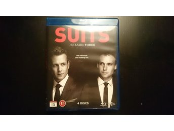 Suits - Säsong 3 Blu-ray