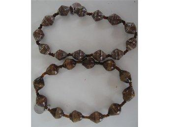 """2 st armband afrikanskt """"BeadForLife"""" i brunt handgjort i Uganda stl M Nytt! - Ljungby - 2 st armband afrikanskt """"BeadForLife"""" i brunt handgjort i Uganda stl M Nytt! - Ljungby"""