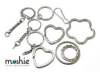 10st stommar till nyckelring i blandade .. (299532956) ᐈ Moshie  på ... 759302b0127b4