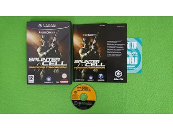 Splinter Cell Pandora Tomorrow KOMPLETT Nintendo Game Cube