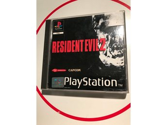 Resident Evil II 2 Black Label Playstation 1 PS1 PSx PSOne Fint skick Svensksåld