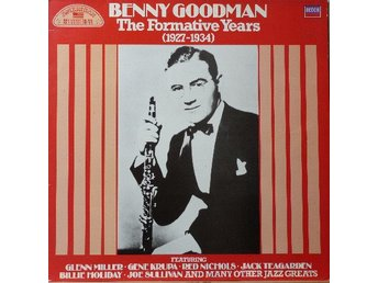 LP Benny Goodman  The Formative Years 1927-1934