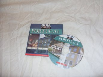 Guia Expresso Portugal Reseguide Portugisisk PC CD ROM september 2005 retro